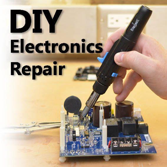 Diy Electronics Repair And Save Money Az Diy Guy Diy Electronics Electronics Diy Hacks Repair