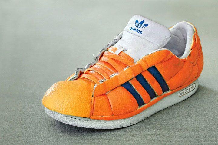 Dan Cretu. | sneaker made of oranges