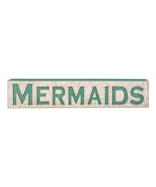 'Mermaids' Wall Sign