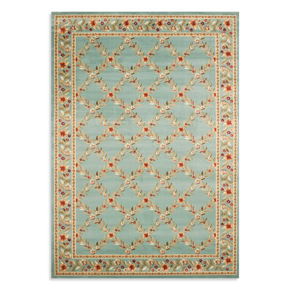 Safavieh Lyndhurst Flower and Vine Rug - Blue - Bed Bath & Beyond