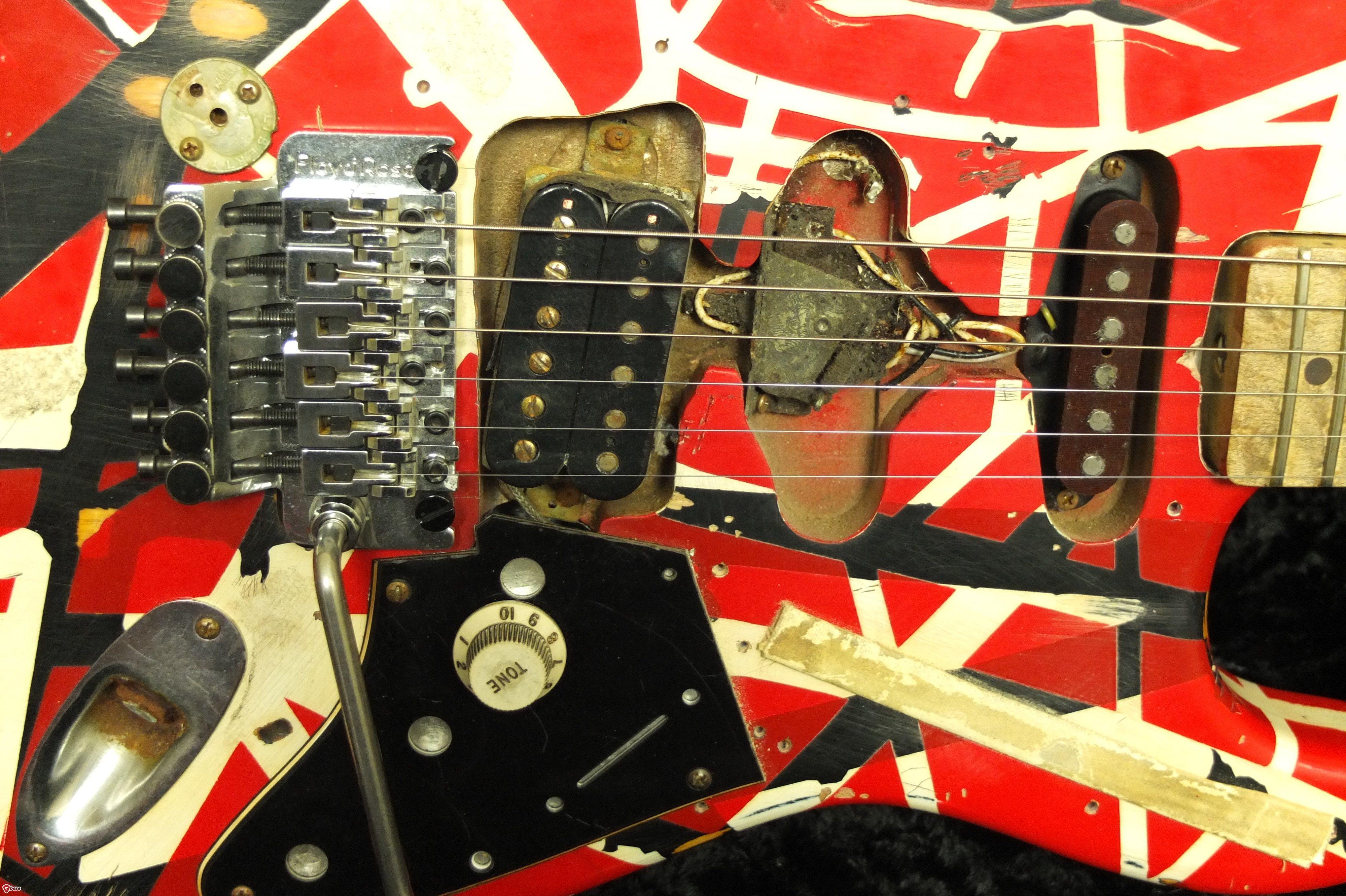 Van Halen Frankenstrat Eddie Van Halen Van Halen Music Guitar