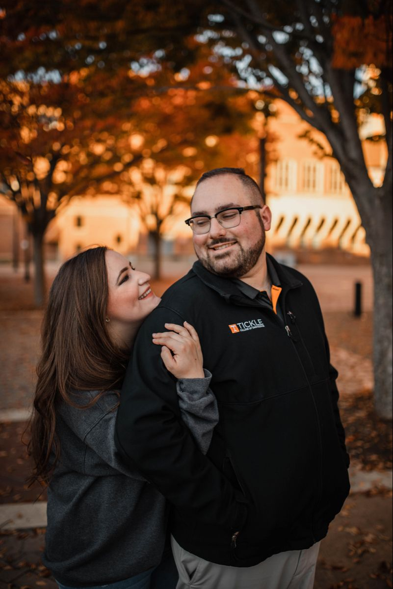 Fall Couples Portrait