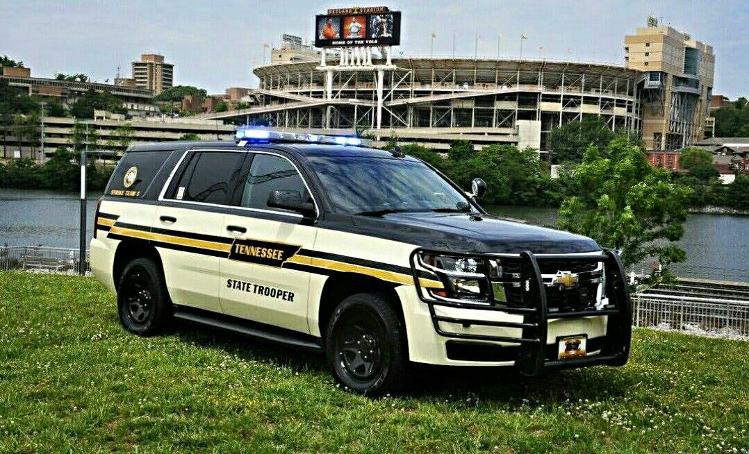 Tennessee Highway Patrol 2015 Chevy Tahoe Police Cars Old