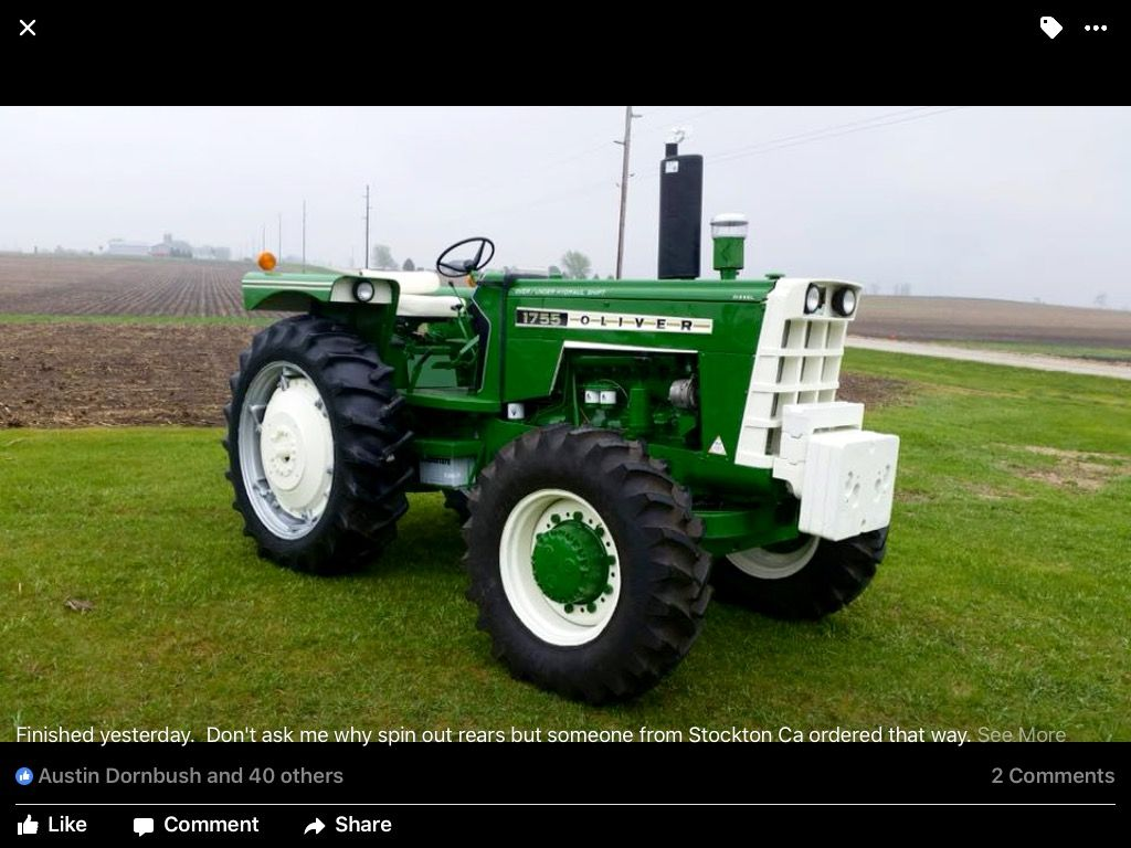 My Inspiration Spin Out Tractors Shopping