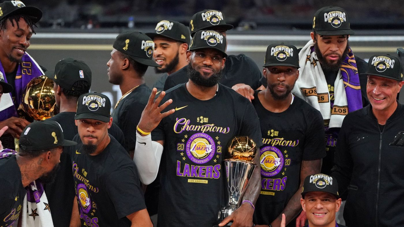 The Best Merch To Celebrate The Los Angeles Lakers 2020 Nba Title In 2020 Lebron James Los Angeles Lakers Nba Finals