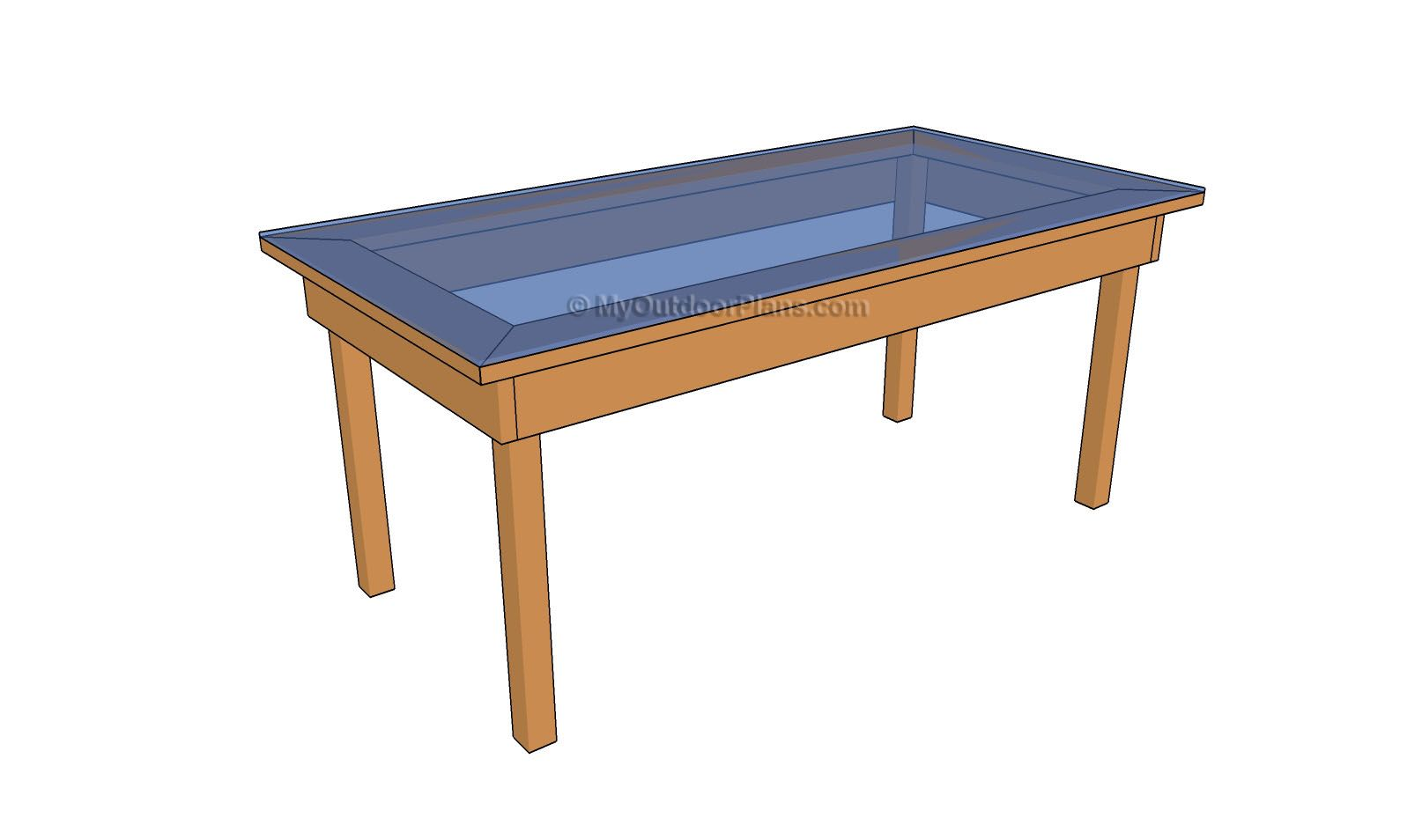 Outdoor wood table plans - Permalink To Plans For Outdoor Wood Table