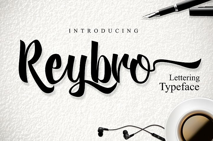 Reybro Free Font of The Week Limited time only
