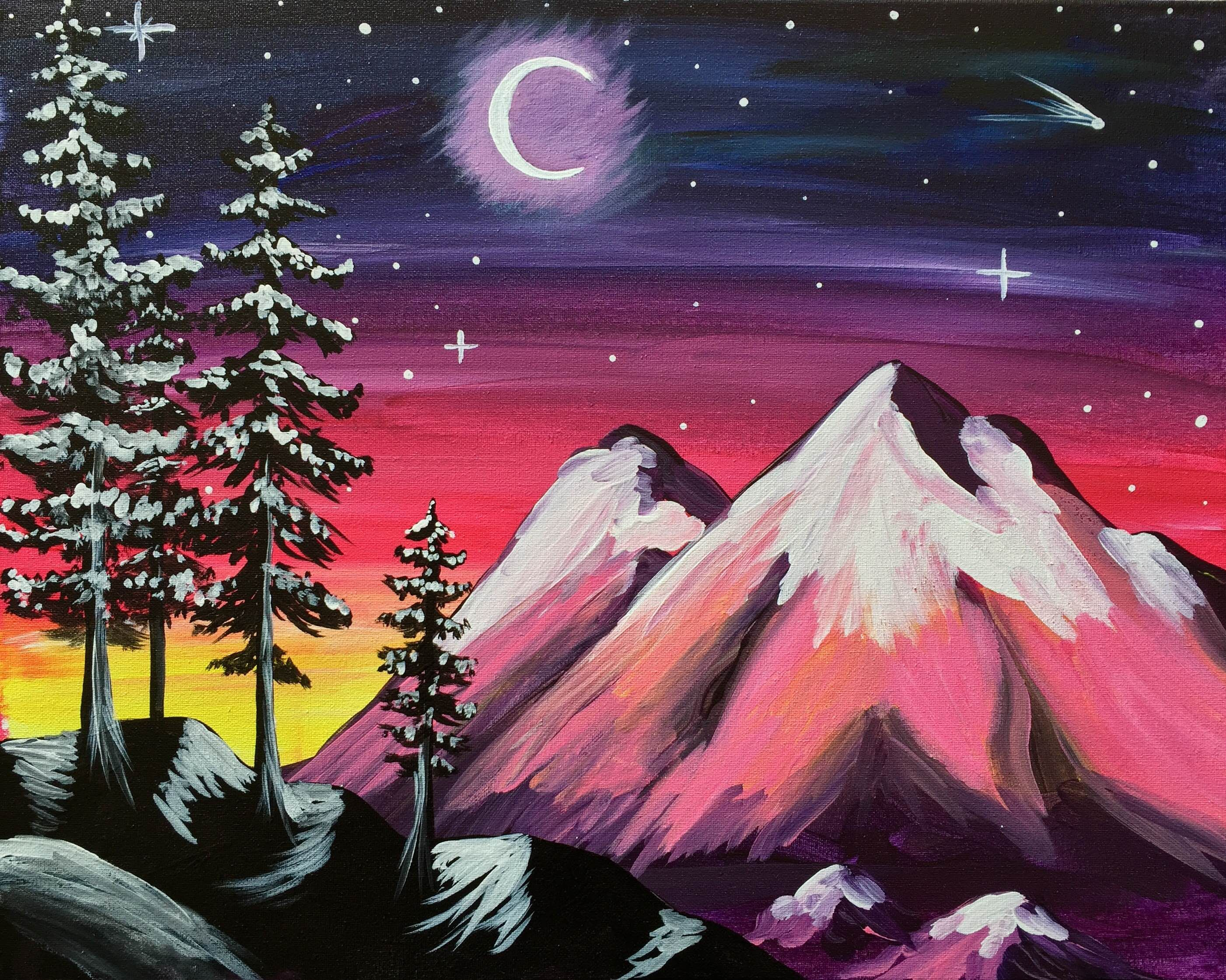 Paint Nite Drink Paint Party We Host Painting Events At