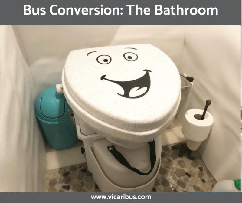 bus conversion tiny wet room