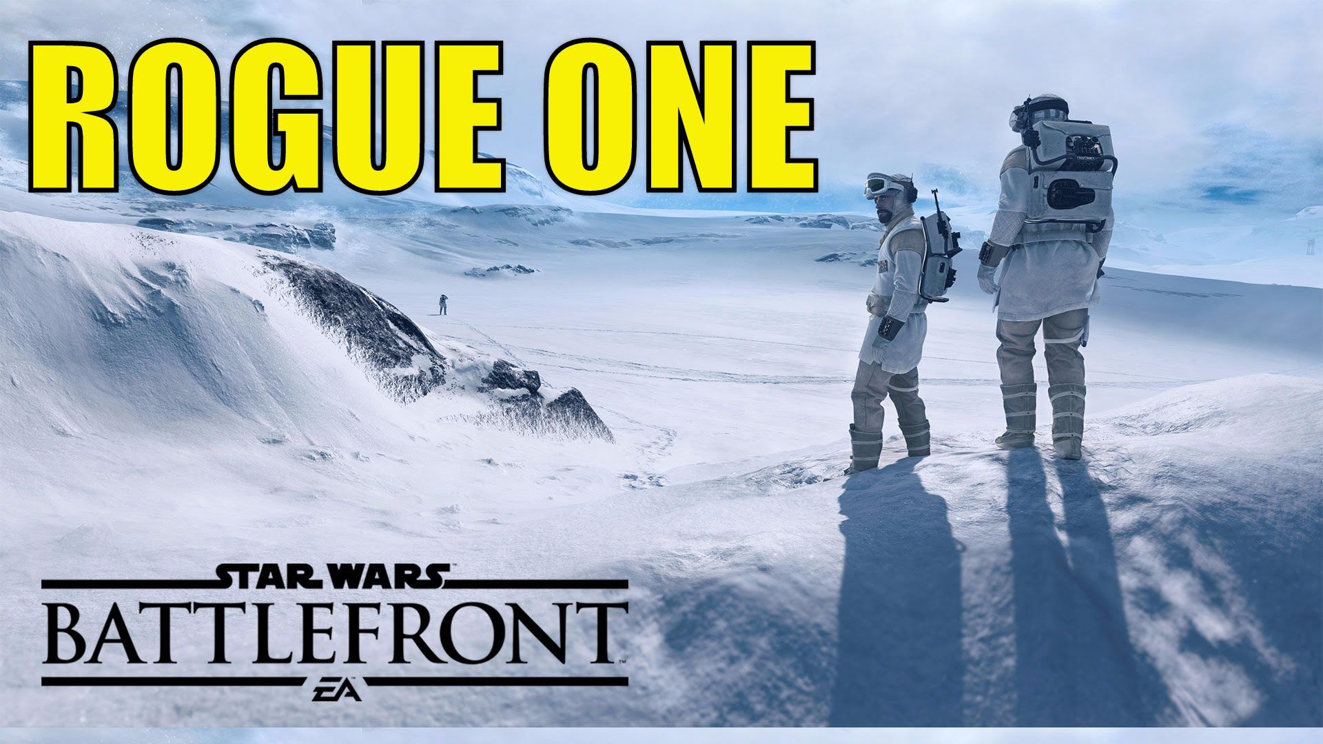 """ROGUE ONE TRAILER 2 THOUGHTS """"BATTLEFRONT GAME PLAY"""""""