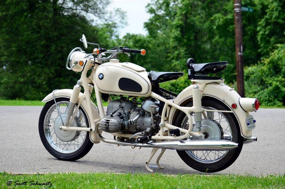 1969 Bmw Motorcycle Mobil Kendaraan