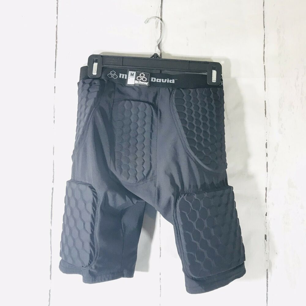 Mcdavid integrated football girdle shorts w built in hex