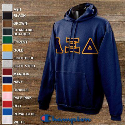afa3d23c82cf Phi sigma sigma 2 champion hoodies pack champion s700 twill – Artofit