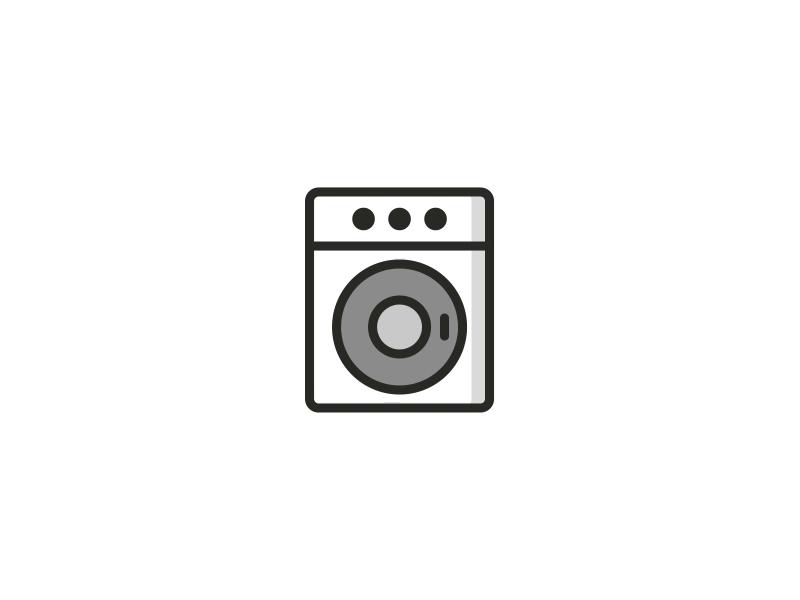 Day 1 Washing Machine Icon By Hero Icon Machine Logo Animated Icons