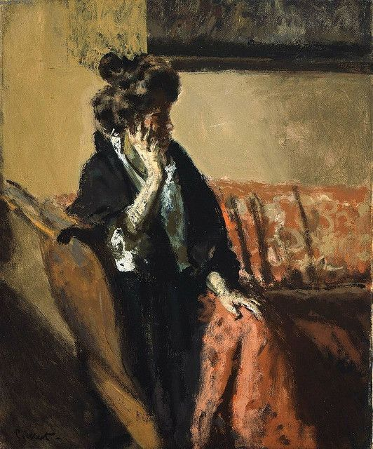 Sickert - Carolina, 1908 by The Passage of Forms, via Flickr