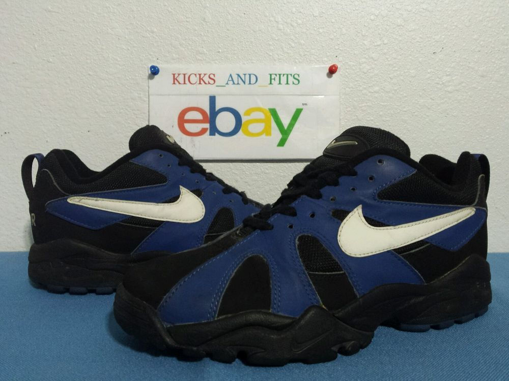 sports shoes 0d88d 5cd1f VTG OG Nike Air Max Diamond Fury Low Ken Griffey Jr 9.5 Black Royal 1994 95  96  Nike  AthleticSneakers