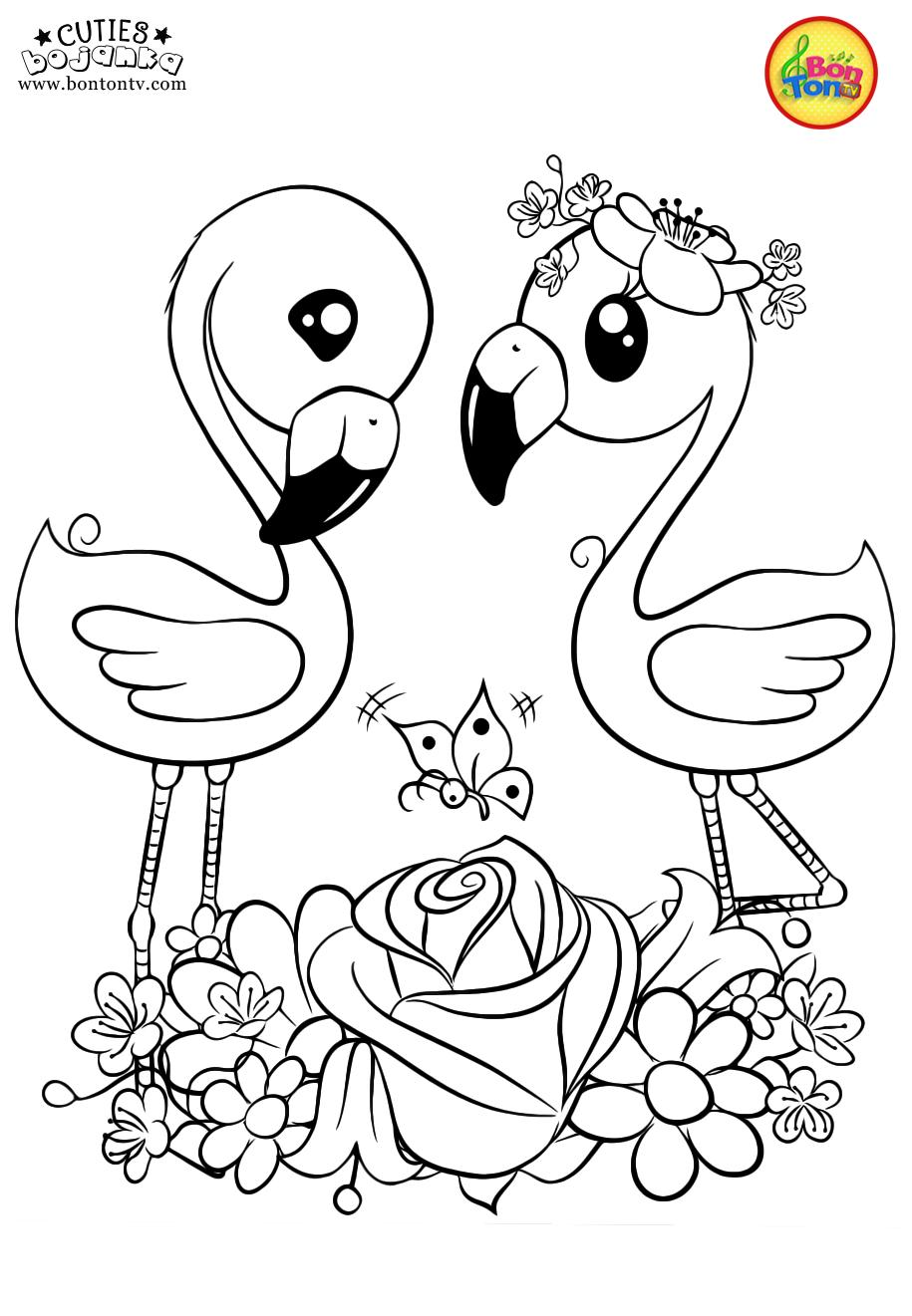Kleurplaten Disney Cuties.Cuties Coloring Pages For Kids Free Preschool Printables