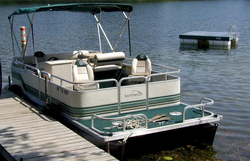 Image Detail For 21 Ft Pontoon With Canopy And Fishing