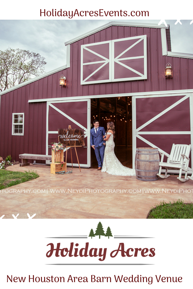 Holiday Acres Is A New Barn Wedding Venue Located On A Christmas