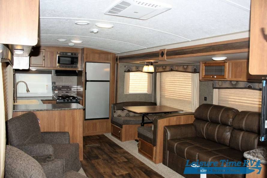 2018 KEYSTONE SPRINGDALE 293RK TRAVEL TRAILER Rear Kitchen