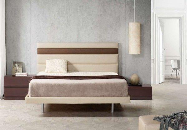 Cabecero acolchado horizontal bicolor decoracion cabeceros cabeceras de cama cabeceras y - Cabecero cama acolchado ...