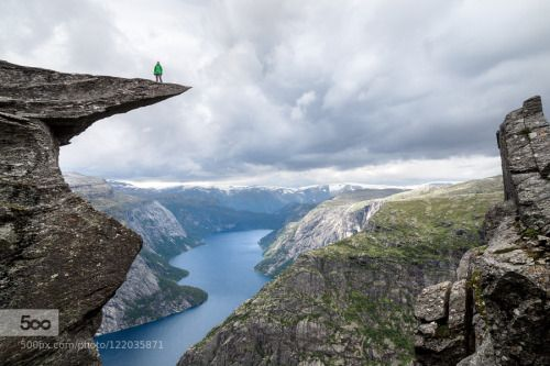Spectacular Norway Trolltunga By Immunogump Canon EOS D Gernot - 20 otherworldly reasons you need to visit norway