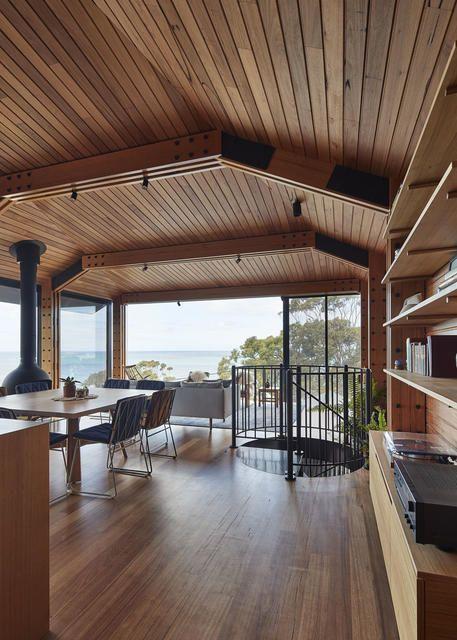 dorman house strandh tte mit perfektem panoramablick architecture. Black Bedroom Furniture Sets. Home Design Ideas
