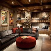 Photo of 15 Awesome Man Cave Spaces for Watching the Big Game – #15awesome #Awesome #Big …,  #15awes…