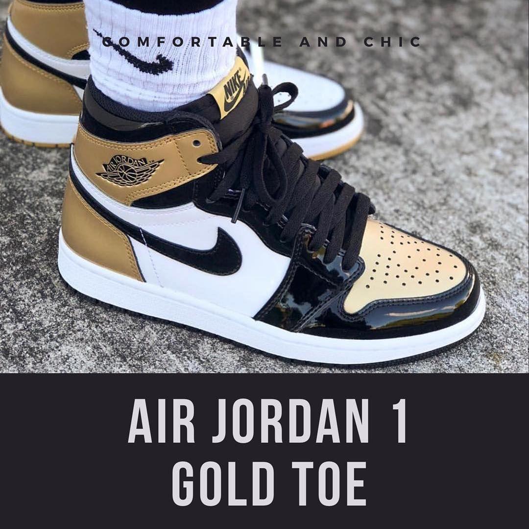 bfccca75 Один из самых ограниченных и раскрученных релизов прошлого года. ⚡ Кроссовки  Air Jordan 1 Gold Toe