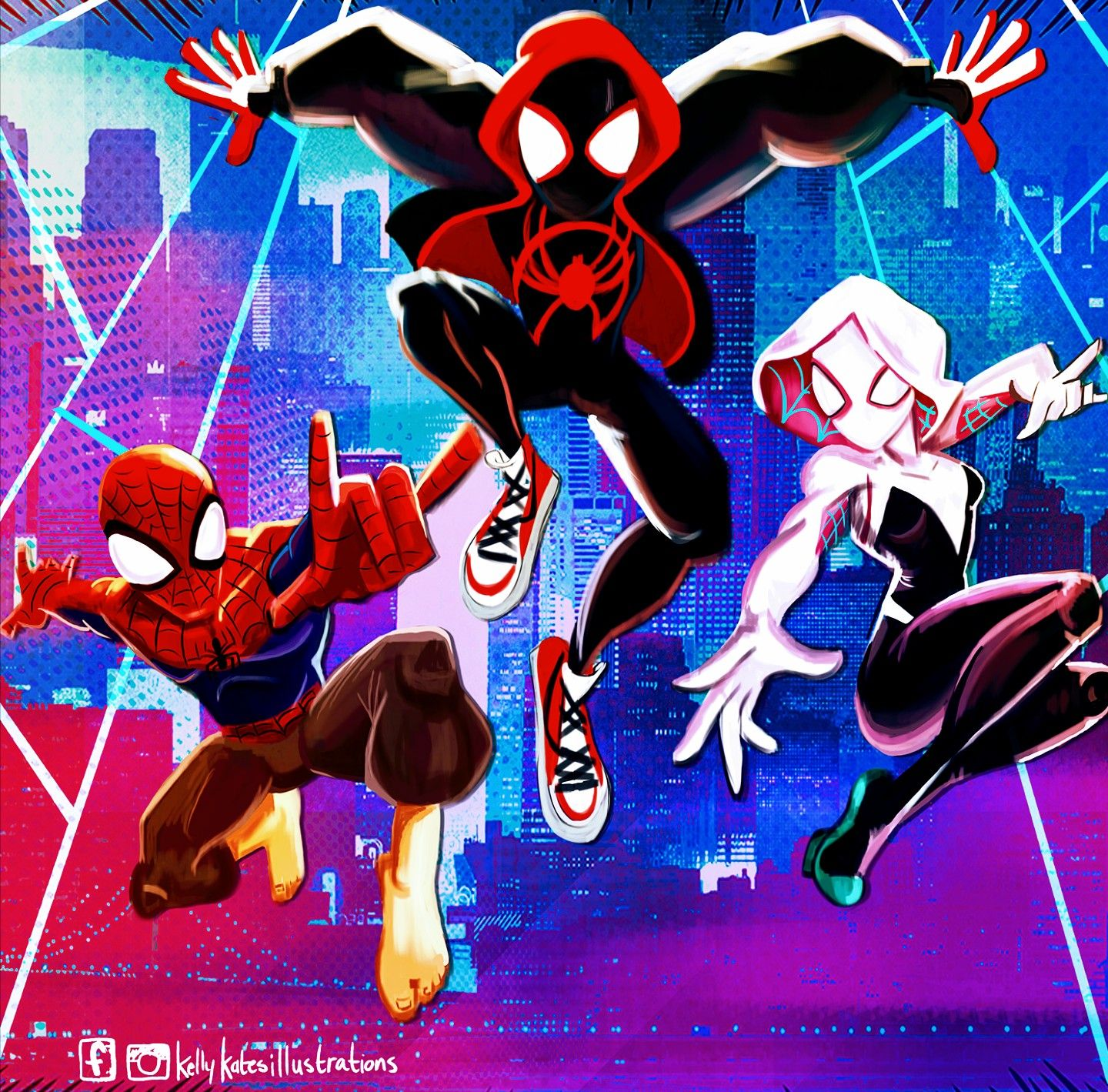 Miles Morales Ultimate Spider Man Into The Spider Verse Miles