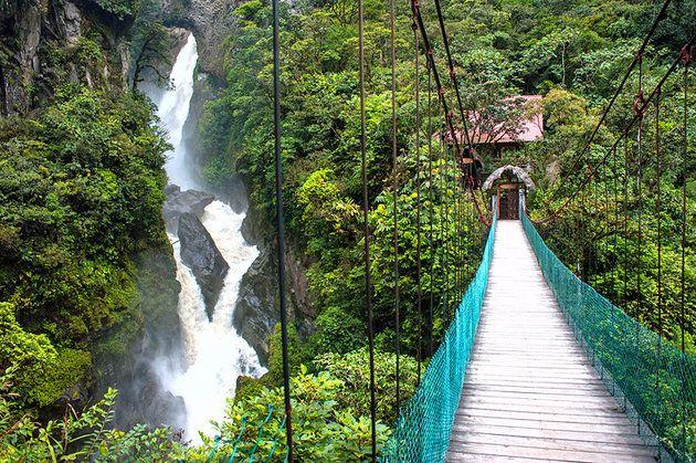 The Hot Springs of Baños   Ecuador travel, South america travel ...