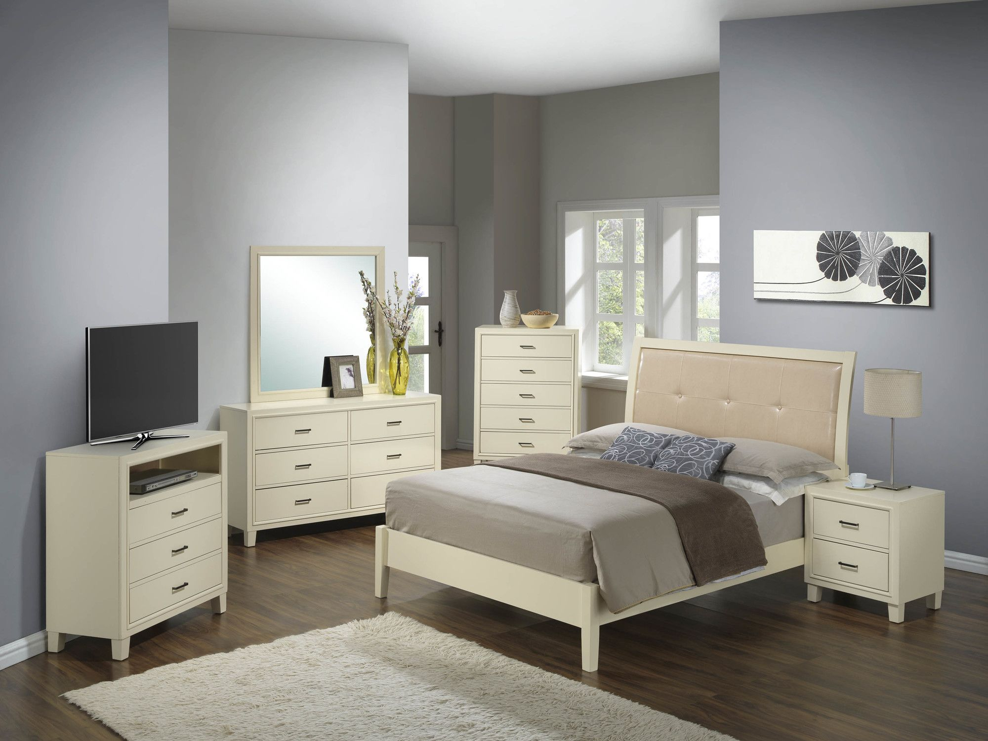 Glory Furniture Panel Bed & Reviews Wayfair Modern bed