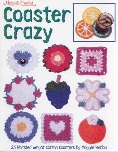 Coaster Crazy Crochet Pattern Leaflet - PDF ONLY   Pinterest ...