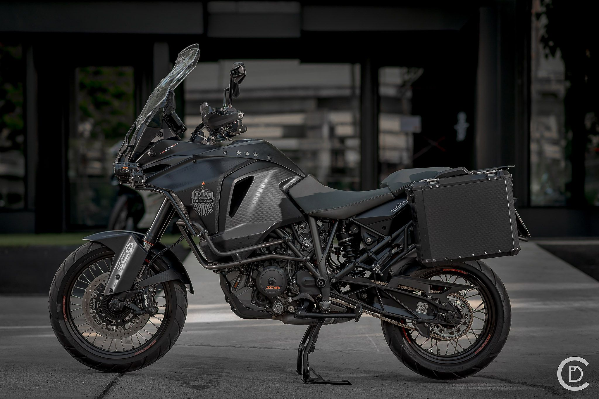 1290 Super Adv Dark Knight Featured Ktm Adventure Adventure Motorcycling Super Adventure