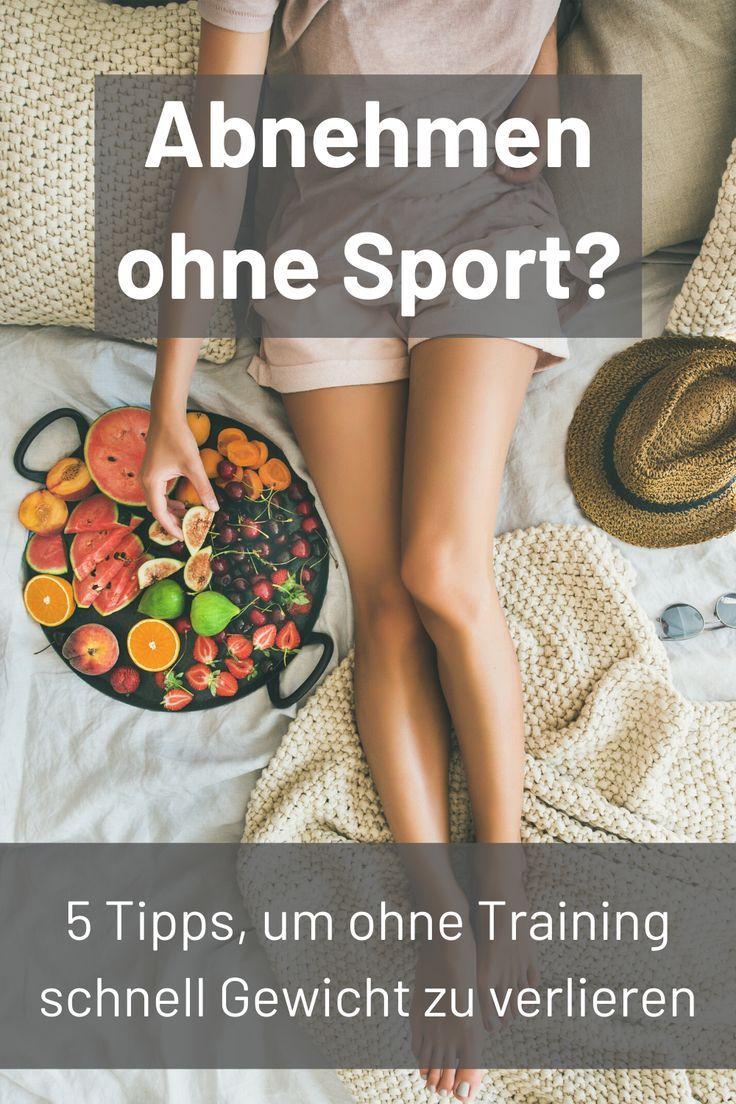 schnell effektiv abnehmen sport