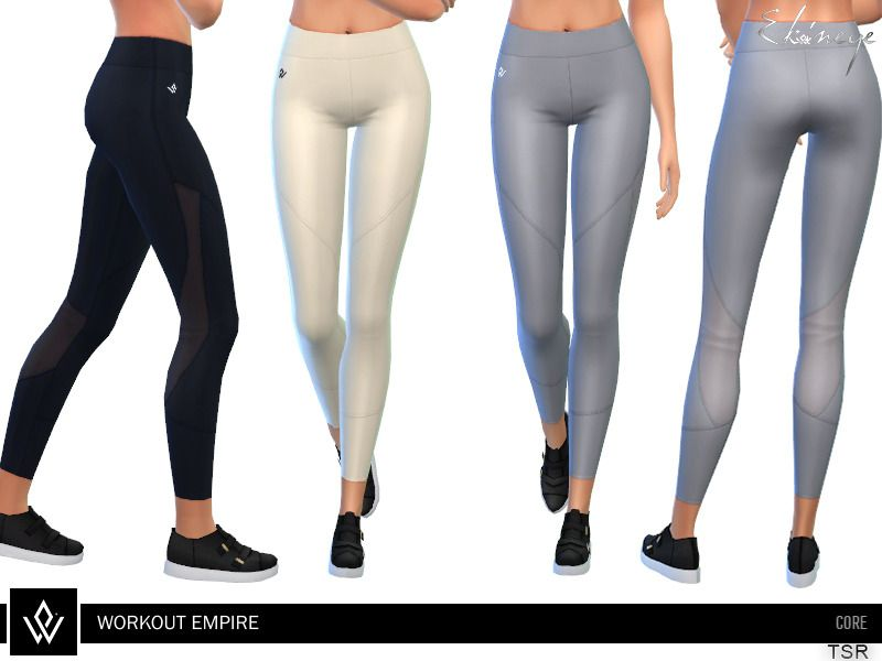 b6a7d703b1 Lana CC Finds - Workout Empire - Core - Tech Tights | sims 4 ...