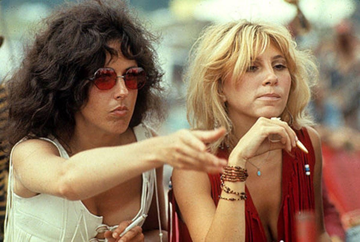 Grace Slick & Sally Mann / Woodstock 1969