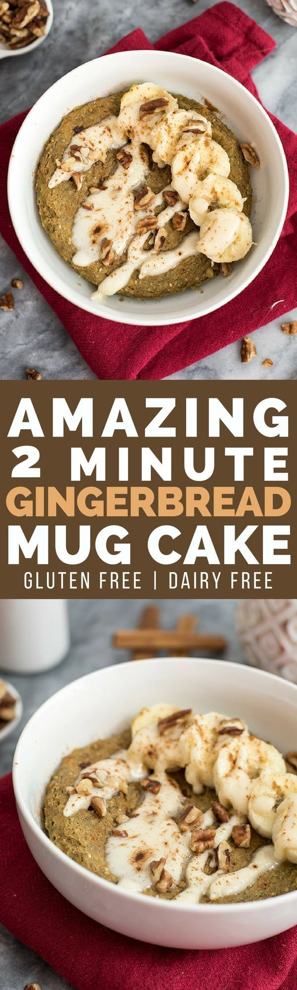 You are going to love this amazing 2 minute gingerbread ...