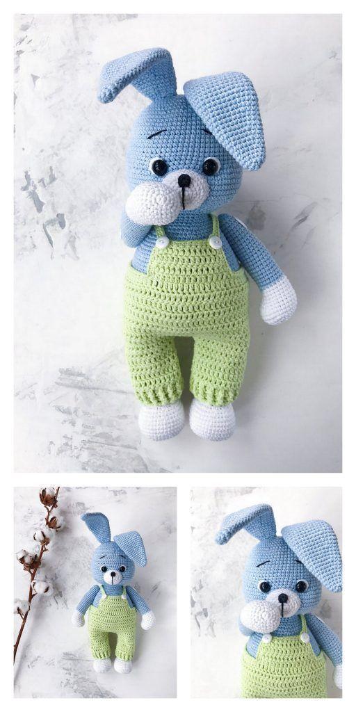 Amigurumi Bunny Free Pattern Amigurumi Free Patterns und Tutorials #Amigurumi .....