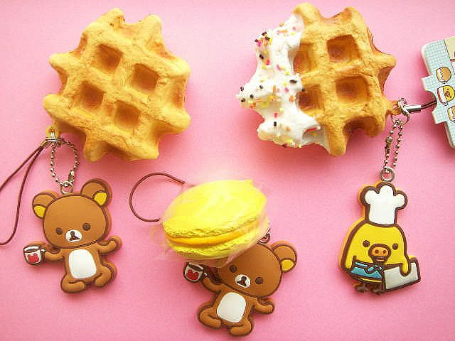 Complete Set of 5 Punitto Gummy BC 3 Mini Sweets Mascot Keychain Collection