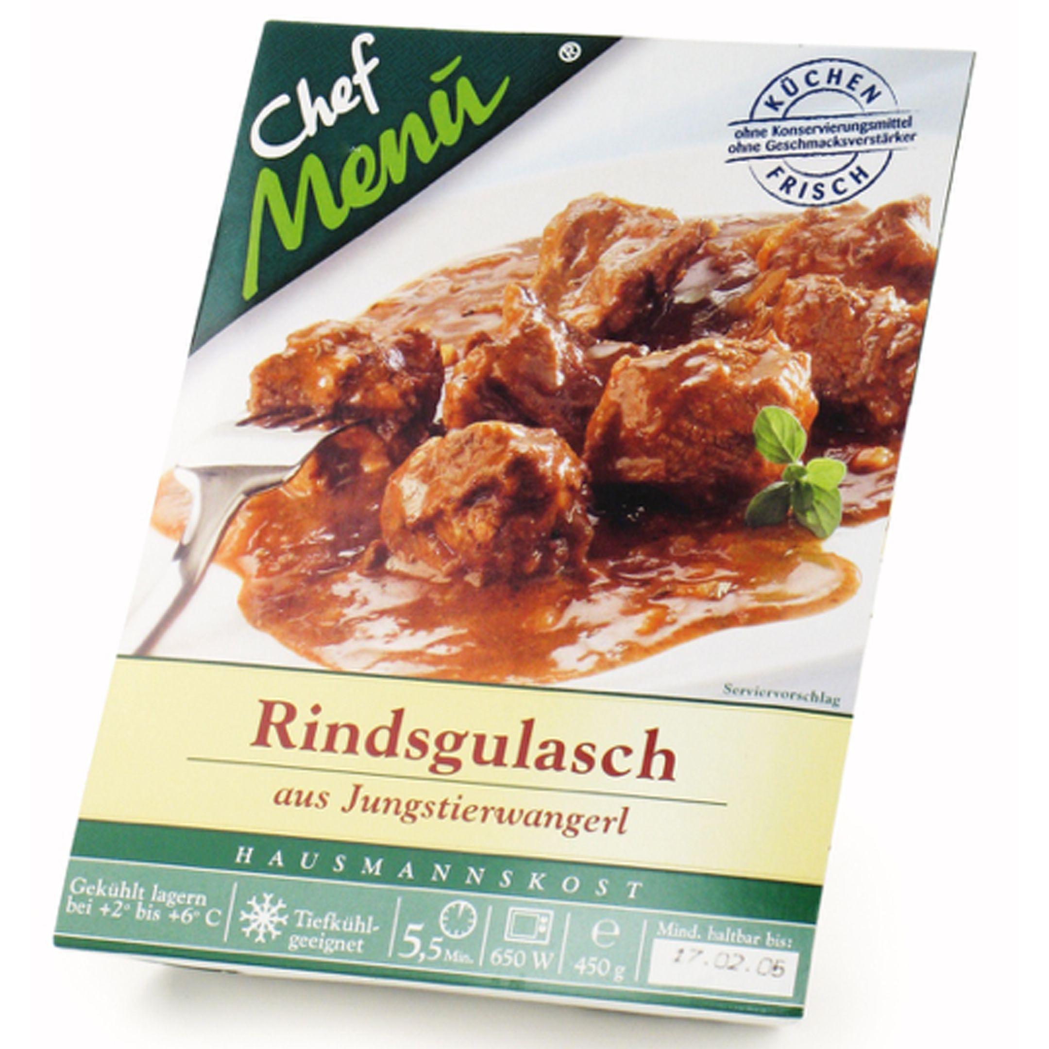 Chef Menu Rewe Austria Entwicklung Markendesign