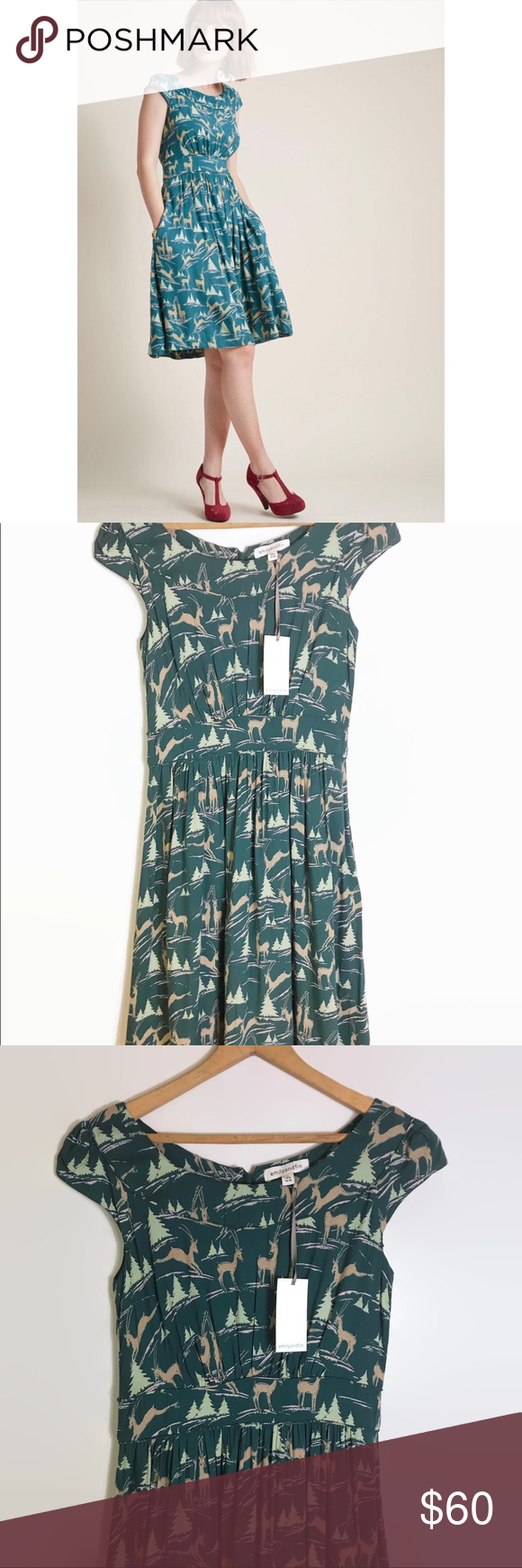 Emily and fin rachel dress nwt size small also my posh closet rh in pinterest