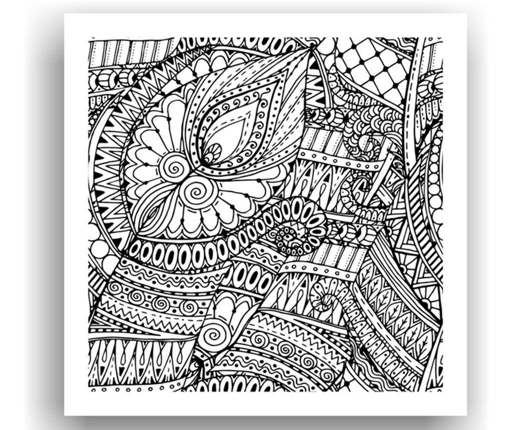 Nástěnná omalovánka sakti x cm omalovÁnky coloring book