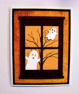 Grand Madison Window Halloween cards