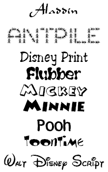 Click to download the fonts   Scrapbooking Fonts