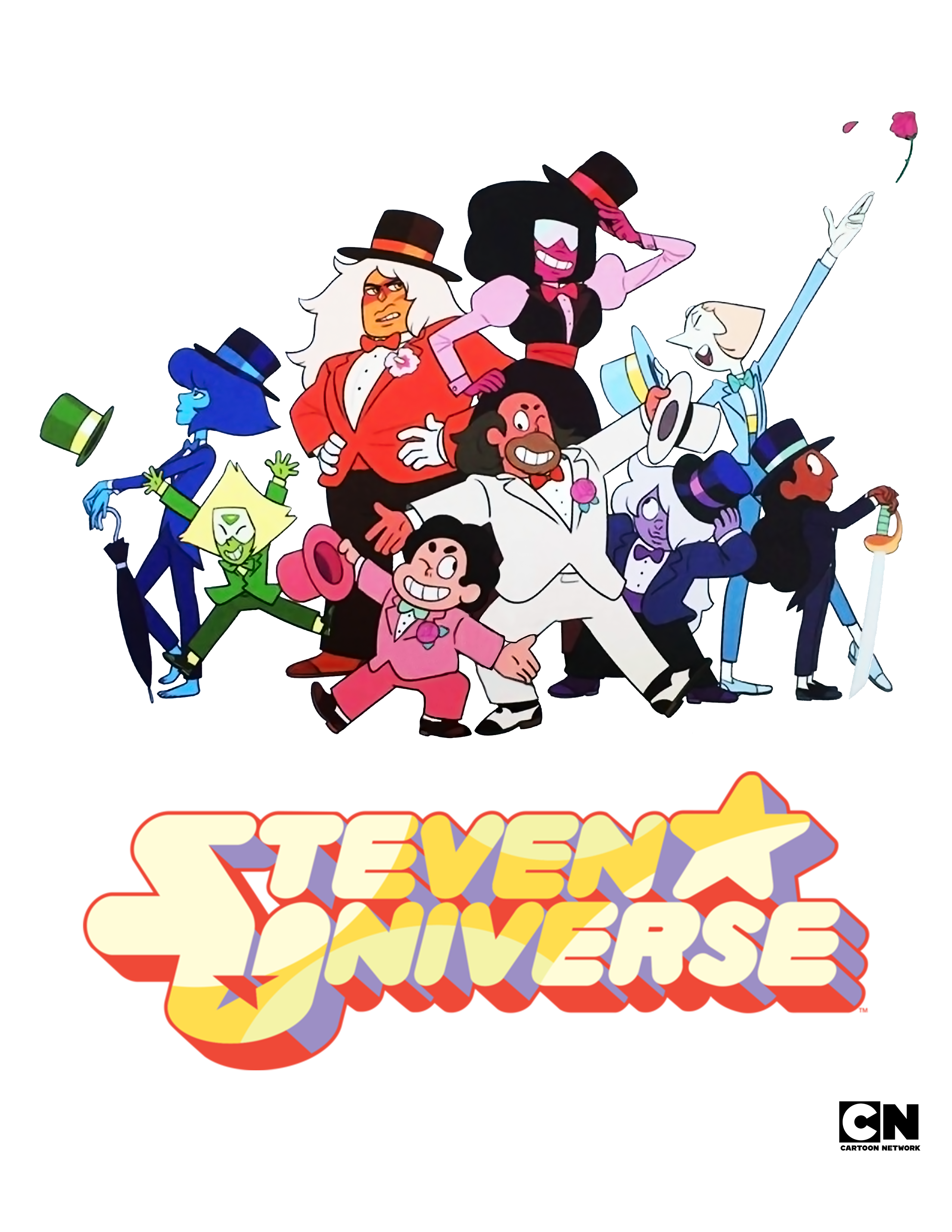 SDCC 2016 Steven Universe Signing Sheet (Cleaned) Improved