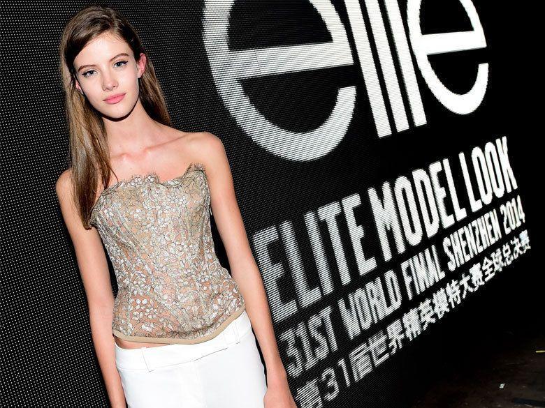 Barbora Podzimkova, grande gagnante du concours Elite Model Look