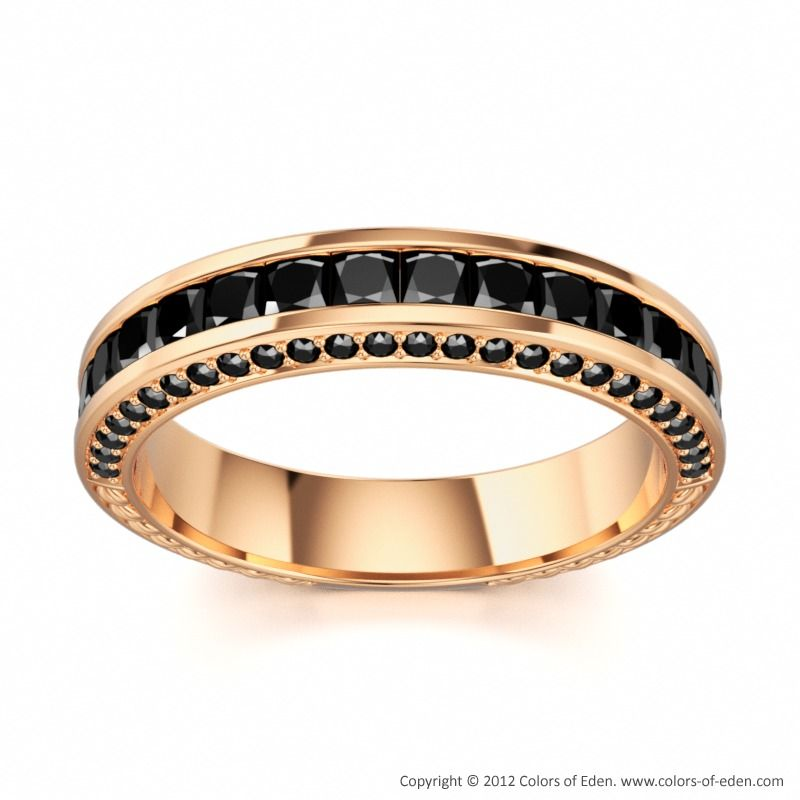 Black Diamonds #Ring