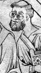 Saint Guthlac of Croyland. Born to the Mercian noblity, he served a soldier and used his freedom and skill in arms to amass a fortune in looted treasure. In 697, however, he had a conversion, gave up the violent and worldly life, and lived in a swamp that was thought at the time to be the home of monsters and demons.