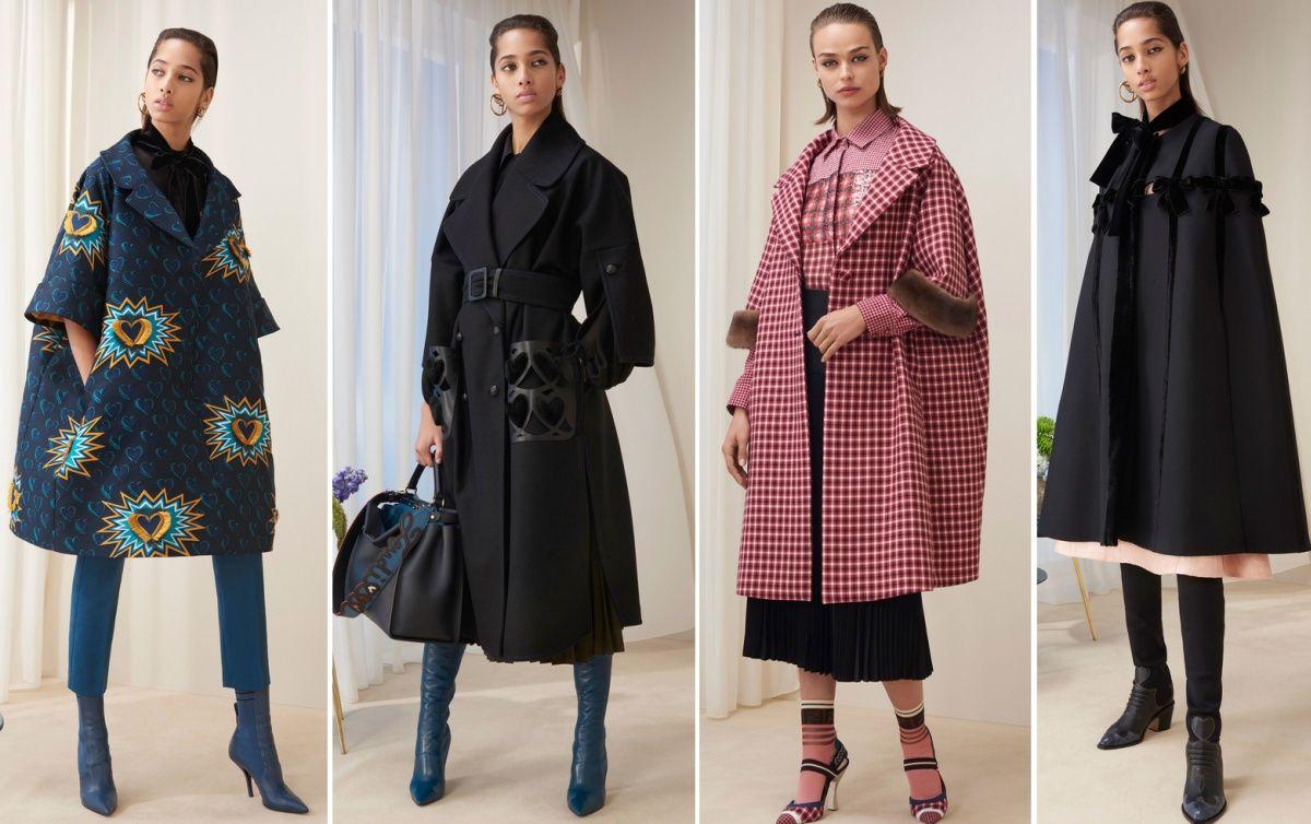 b65a39277c9d модная тенденция пальто осень-зима 2018-2019 - пальто-кокон, трапенция,  тренчкот и кейп